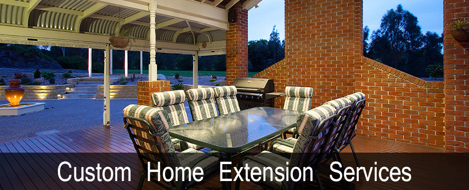 custom home extentions
